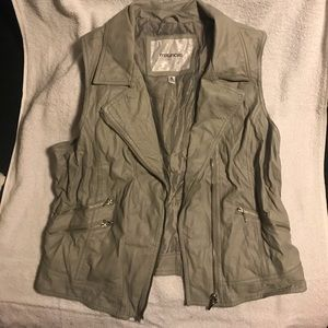Maurices faux leather vest